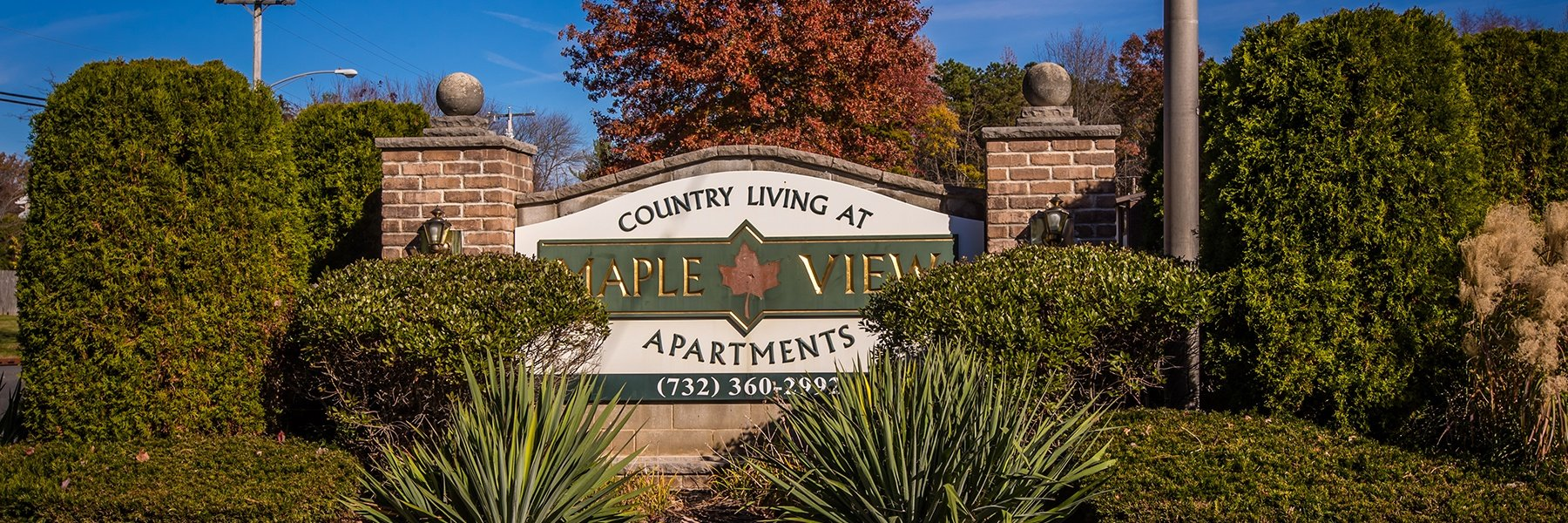 Country Living at Mapleview Apartments For Rent in Old Bridge, NJ Welcome